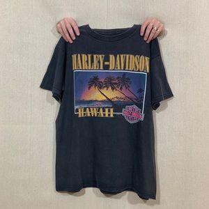 HARLEY DAVIDSON: VINTAGE HAWAII TEE